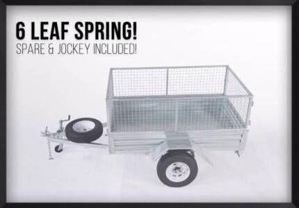 SALE! Welded 7x4 Gal Trailer with REGO & Everything