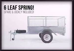Mid Year Clearance!Budget Heavy duty Gal Trailer Starts from $799 Perth Perth City Area Preview