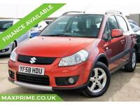2008 SUZUKI SX4 1.9 DDIS 4GRIP 5D 120BHP DIESEL FULL HISTORY + JUST SERVICED