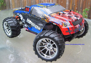 New Nitro RC Truck HSP 1/10 Scale 2.4G  4WD City of Toronto Toronto (GTA) image 9