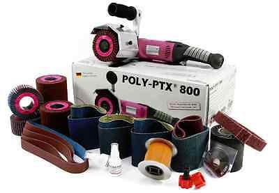 Eisenblaetter Satiniermaschine POLY-PTX 800 Basis Set, 220Volt