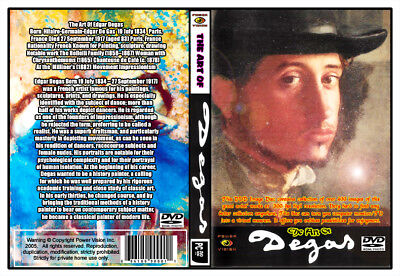 The Art Of Edgar Degas (Image DvD-Rom 400+Photos disk art reference) HR