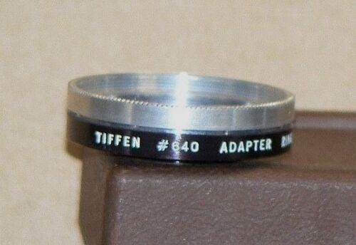 Tiffen Series 6, #640 Screw-On Lens Adapter with Retaining Ring for Argus C-4