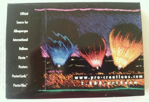 Albuquerque International Balloon Fiesta OFFICIAL Post Card Set 1979-2002