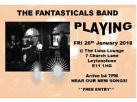 The Fantasticals Band at Luna Lounge, Leytonstone