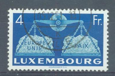 Luxembourg 1951 United Europe 4Fr sg.548 used