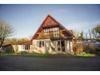3 Bed Lodge/villa Cornwall 999 year leasehold sleeps 8 /2 bathrooms