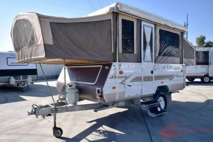Jayco Eagle Outback Camper - Sleeps 6 with bed end flys