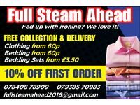 FULL STEAM AHEAD (IRONING COMPANY)