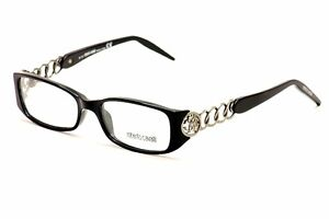 Roberto Cavalli Eyeglasses Fucsite 494 001 Black Optical Frame