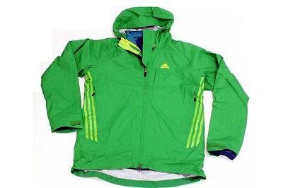 Adidas Terrex Swift 3In-1 Climaproof Prime Green/Still Green Storm Jacket(Large)