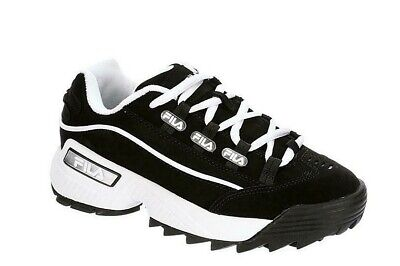 Fila Hometown Black/White Women's Sneakers Casual Athletic Shoes Sizes 6-10