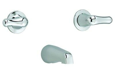 American Standard Colony Polished Chrome Soft 2-Handle Wall-Mount Tub Filler NEW American Standard Colony Soft Tub