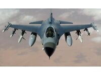 F16 Fighting Falcon Flight Simulator Experiences From £35