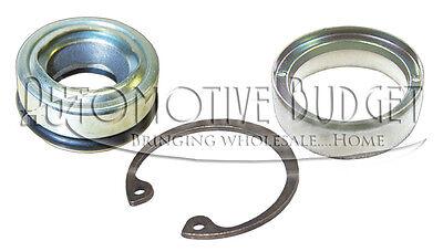 A/C Compressor Shaft Seal Kit w/Metal Cover- Delphi Denso Diesel Kiki Sanden etc