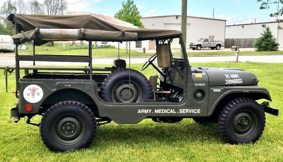 1954 Willys  1954 Willys M-170 JEEP AMBULANCE, RARE
