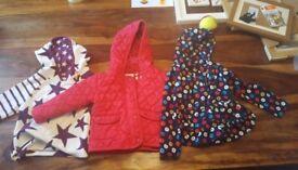 Girls fleece tops and jacket 18/24