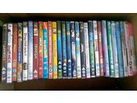 28 Children's DVDs. £1 each or all for £15 (job lot / bundle). Swansea