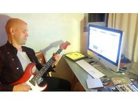 Guitar, song production, programming and engineering tuition... with a difference!
