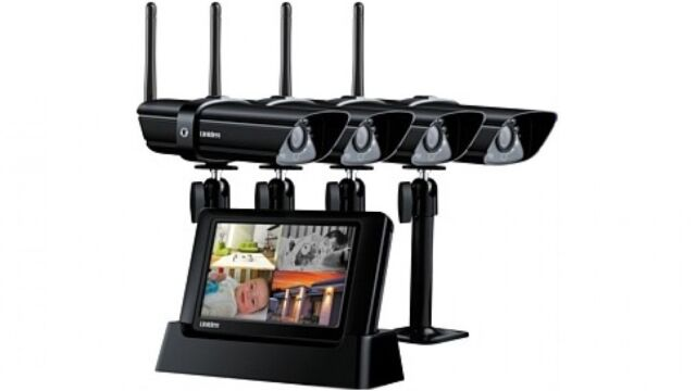 UNIDEN G2740 Guardian with 4 x Wireless Cameras -