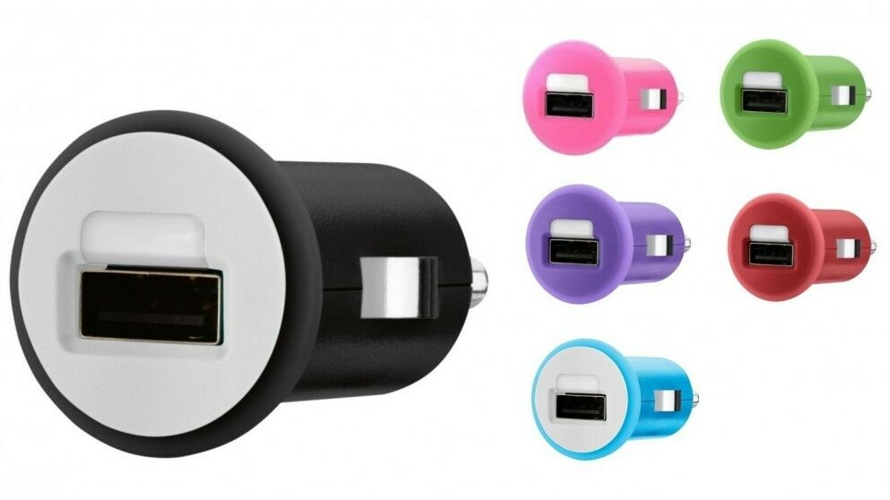 Belkin MIXIT USB Car Charger Adapter 5W-1A Color for iPhone
