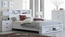 Queen Bedframe - finished in white gloss Nundah Brisbane North East Preview