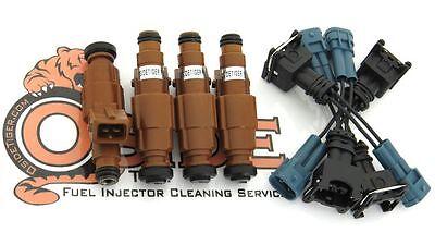 1989-93 Mazda Truck B2600 2.6L Fuel Injectors Bosch Best Upgrade 4-Hole Spray!