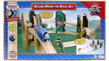 Thomas the Tank engine - wooden - New - Racing Down the Rail Set Rose Bay Eastern Suburbs Preview