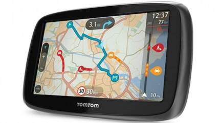 """Brand New TomTom GO 50 5"""" Lifetime Maps & Traffic GPS Box Hill South Whitehorse Area Preview"""