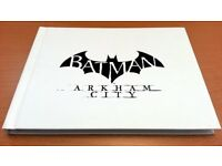 BATMAN ARKHAM CITY COLLECTIBLE ART BOOK + PS3 PLAYSTATION GAME! - HARDBACK COLLECTORS EDITION!