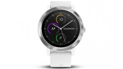 Garmin Vivoactive 3 GPS Watch, White | 010-01769-21 | AUTHORIZED GARMIN DEALER!