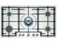 BRAND NEW - BOSCH - PCR915B91A - 90 cm Gas Cooktop