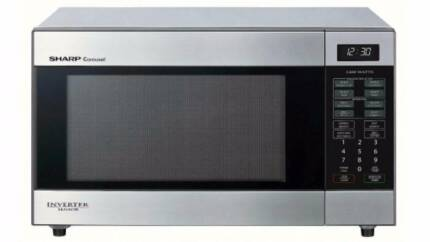 Sharp 1200W Inverter Stainless Steel Microwave Oven Waterloo Inner Sydney Preview