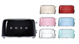 Smeg toaster in various colours