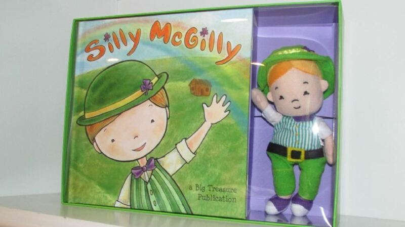 Silly McGilly Book & Doll Set St. Patrick