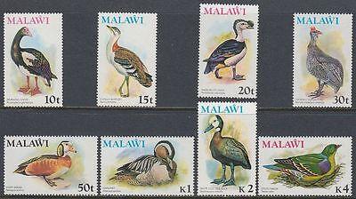 Malawi 1975 ** Mi.234/41 10t to 4k Vögel Birds Tiere Animals Fauna [st1501]