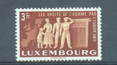 Luxembourg 1951 3Fr United Europe sg.547 MNH