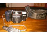 Fuji DL-800 Zoom Vintage 1980s Compact Chunky Retro 35mm Film Camera