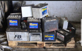 Car/ vehicle battery collection Service - Dead or Alive