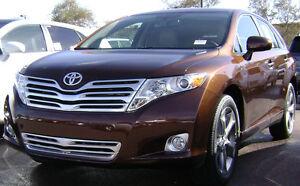Toyota Venza, factory satin chrome, lower bumper insert grill. 2009-2012