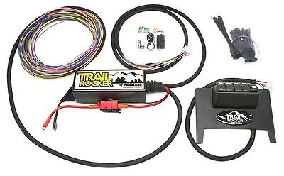 (Painless Performance Trail Rocker Control System Black w/ Switches Wrangler JK)