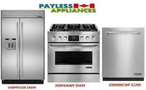Home Appliances Blowout Sale Up To 70% at Payless Appliances Fridge, Stove, Dishwasher, Washer Dryer, Wall Oven And More