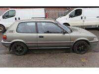 Toyota, COROLLA, Hatchback, 1990, Automatic, 1295 (cc), 3 doors