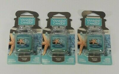 Lot 3 Brand New YANKEE CANDLE SUN & SAND CAR JAR ULTIMATE Tropical