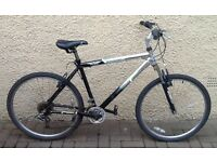 "Bike/Bicycle. GENTS ESTEEM "" STEALTH "" LIGHTWEIGHT MOUNTAIN BIKE"
