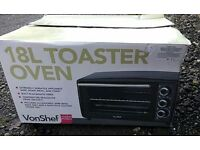 Von Shef 18l toaster oven