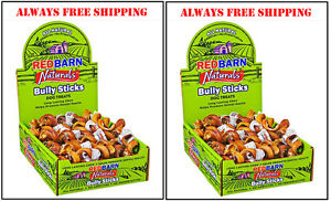 RED BARN BULLY STICK SPRINGS 50 COUNT