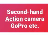 Seeking wanted second hand gopro