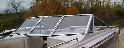 COMPLETE WINDSHIELD FROM  1985 LARSON CITATION 175 OPEN BOW BOAT PARTING OUT