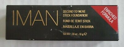 IMAN Cosmetics Second To None Stick Foundation New - Clay 5